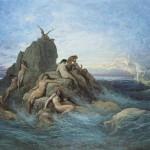 """""""Die Okeaniden"""" von Gustave Doré, 1860"""